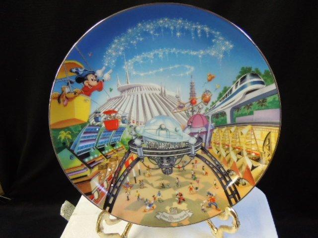 8 WDW 25th Anniversary Plates - 3