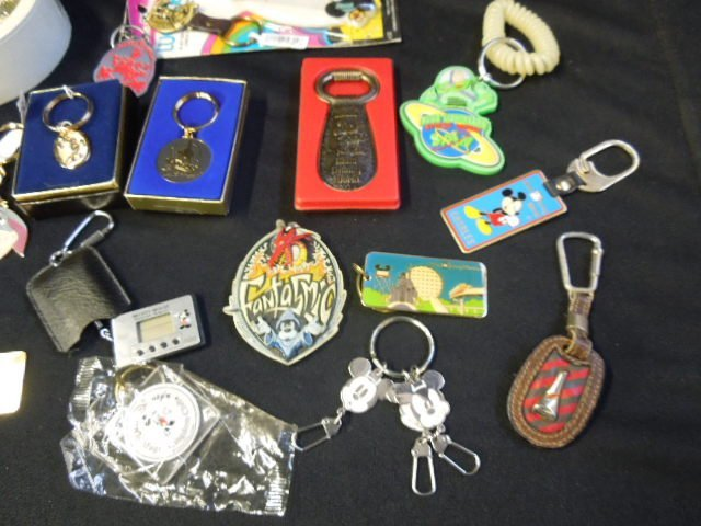 Lot Disney Keychains and Other - 5