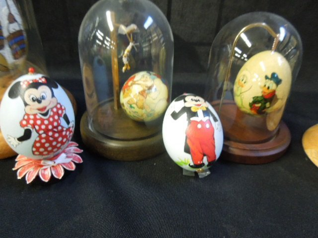 6 Hand Painted Disney Eggs - 3