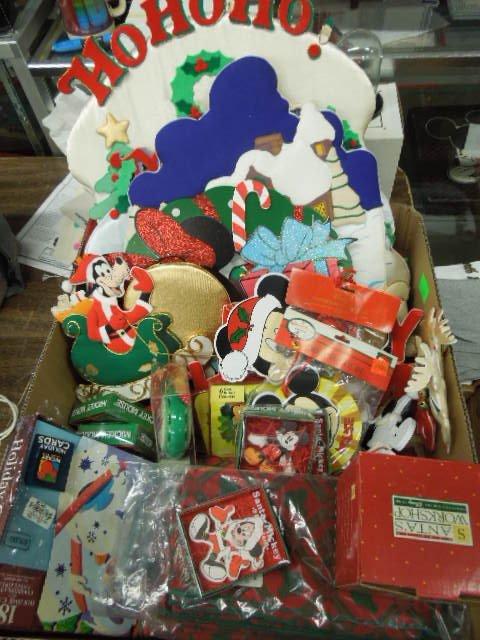 Lot Disney Christmas Decorations