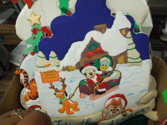 Lot Disney Christmas Decorations - 3