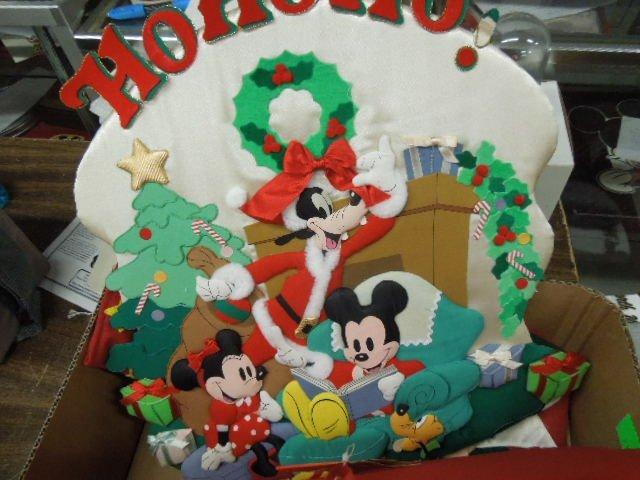 Lot Disney Christmas Decorations - 4