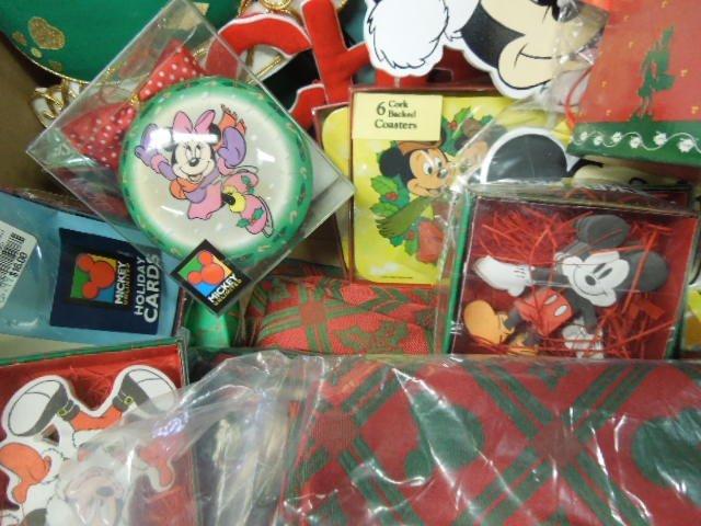 Lot Disney Christmas Decorations - 5