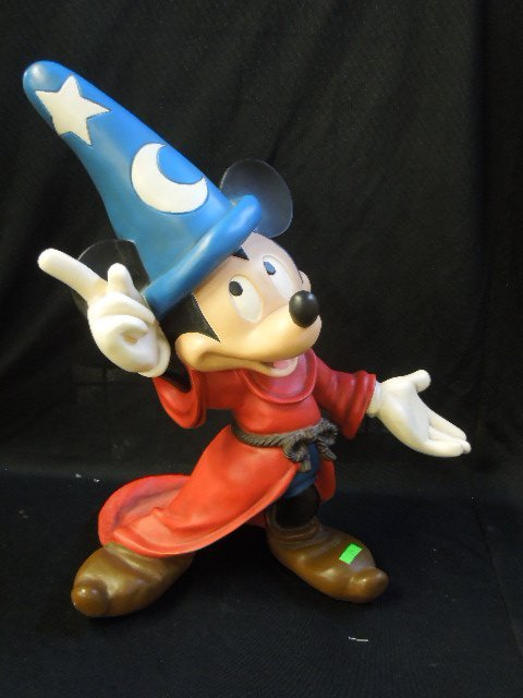 Large Mickey Sorcerer Resin Figure
