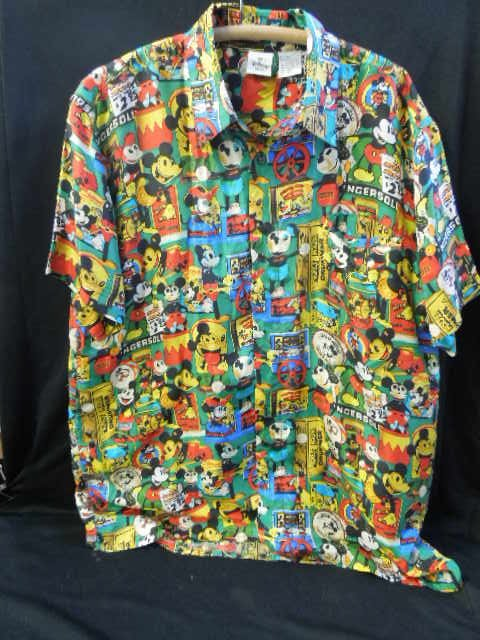 Mickey Mouse Silk Shirt