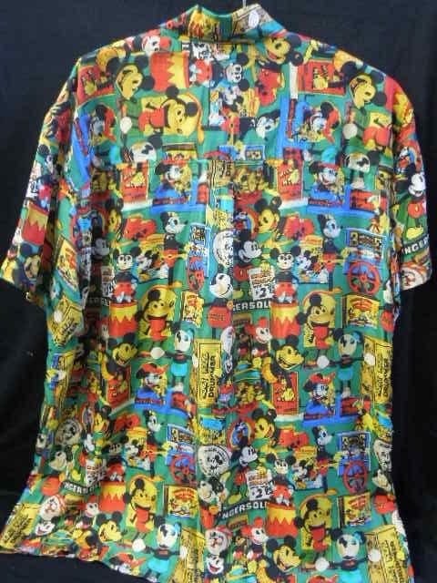 Mickey Mouse Silk Shirt - 3