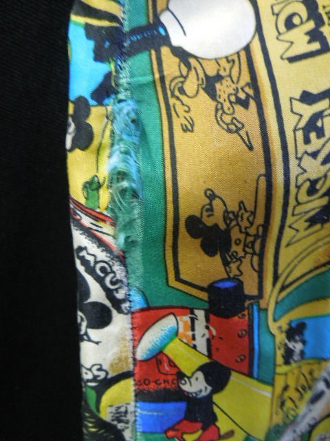 Mickey Mouse Silk Shirt - 4