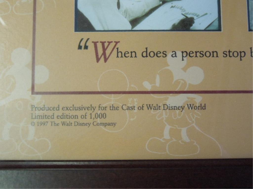2 Framed Walt Disney Posters - 4