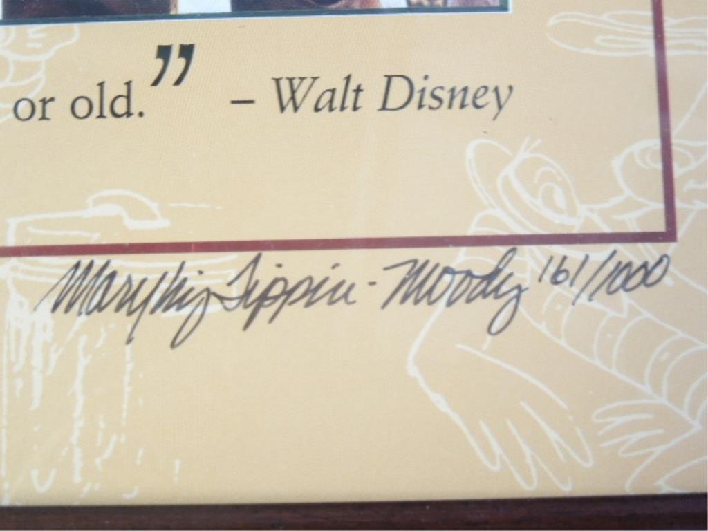 2 Framed Walt Disney Posters - 5