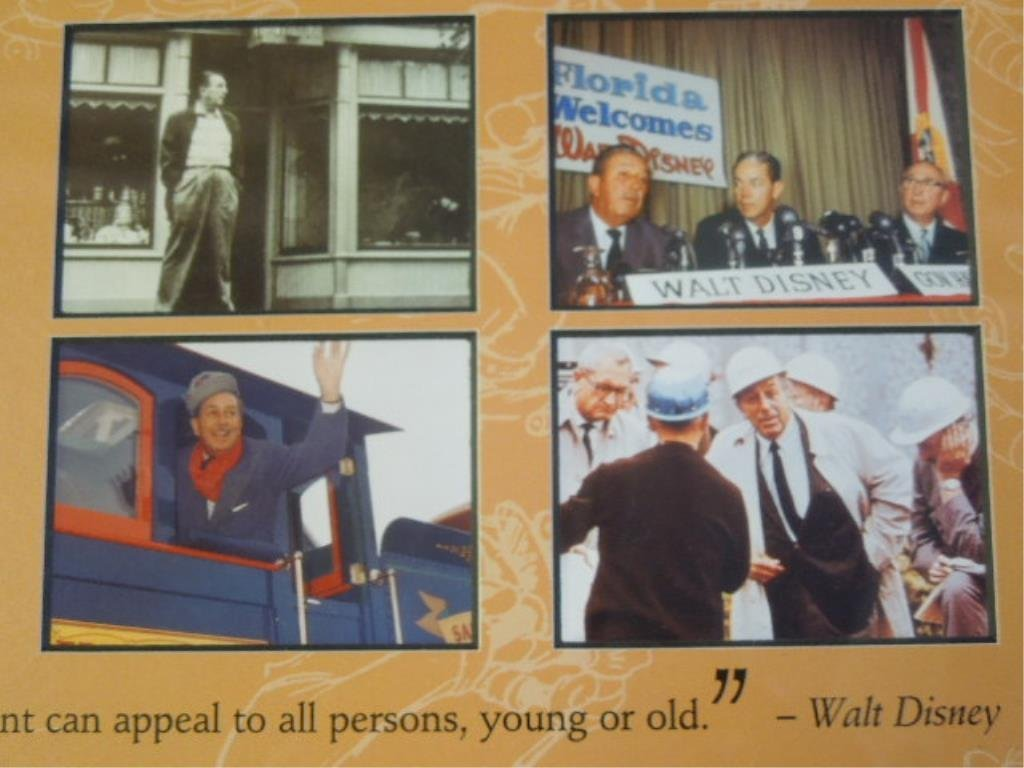 2 Framed Walt Disney Posters - 6