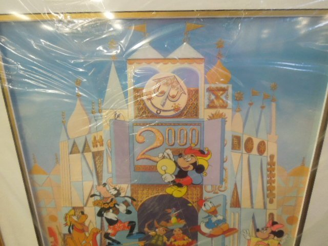 Disneyana Small World Sericel framed - 2