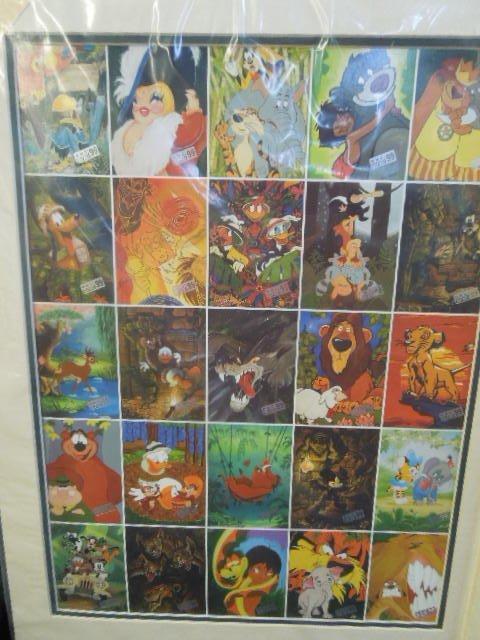 2 Disneyana Uncut Trading Card Sheets - 3