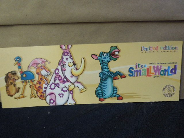 2000 Disneyana Uncut Sheet Cards framed - 6