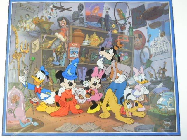 """1998 Disneyana Sericel """"Fond Memories"""" - 2"""
