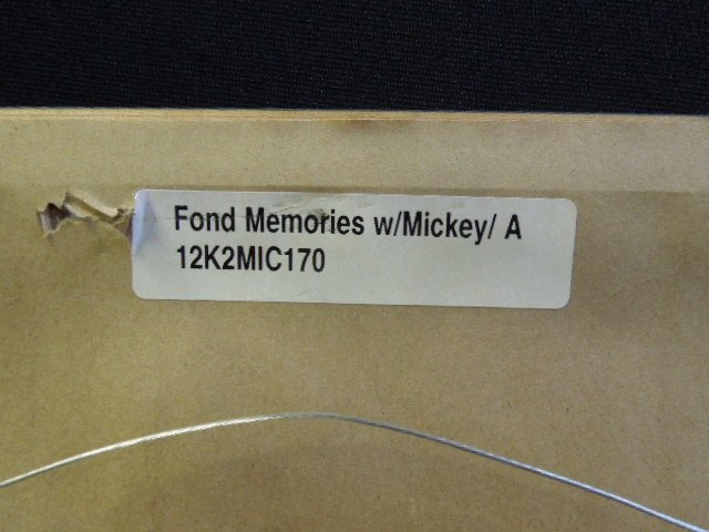 """1998 Disneyana Sericel """"Fond Memories"""" - 5"""