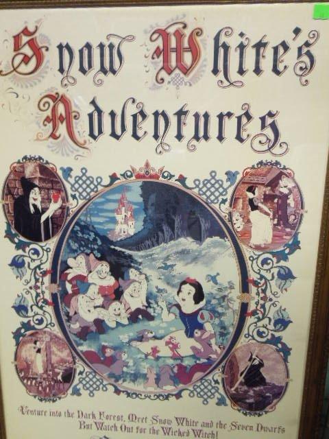 Framed Disney Fantasyland Poster - 2
