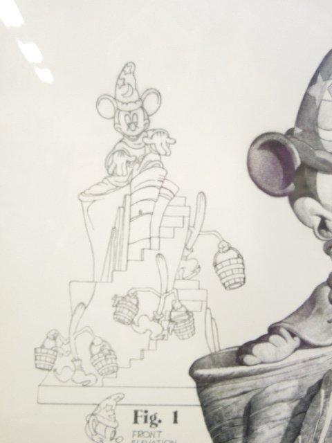 Framed Disney Print Sorcerer's Apprentice - 2