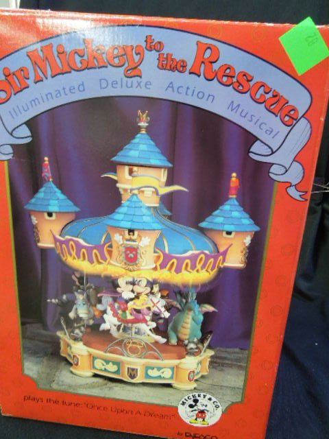 Sir Mickey To The Rescue, Musical Carousel