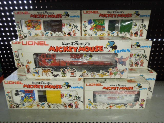 15 PC Lionel Mickey Mouse Express