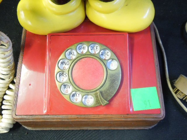 Vintage Mickey Mouse Rotary Phone - 2
