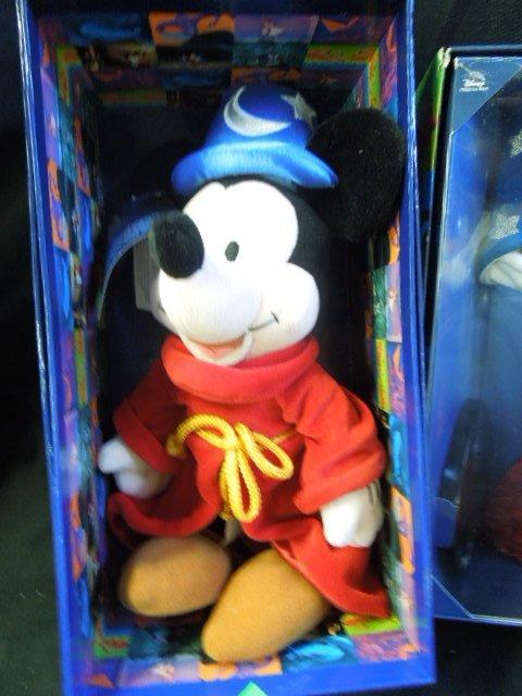 2 Mickey Sorcerer Dolls NIB - 2