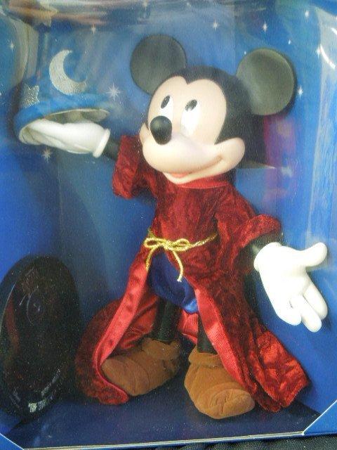 2 Mickey Sorcerer Dolls NIB - 3