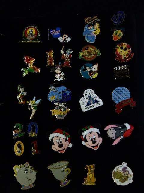 80+ Official Disney Pins - 4