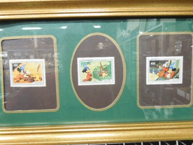4 Framed Disney Stamp Sets - 5