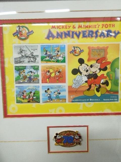 4 Framed Disney Stamp Sets - 7
