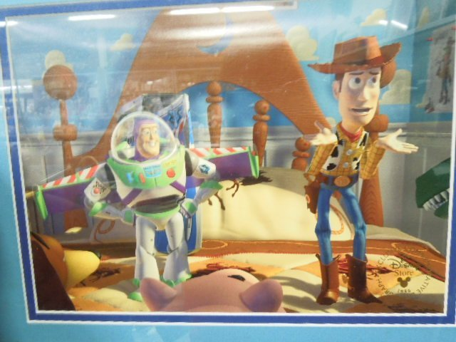 2 Toy Story Framed Lithographs - 2