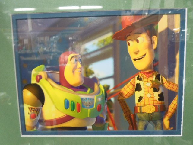 2 Toy Story Framed Lithographs - 4