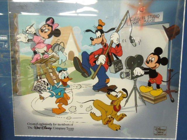 Disney California Arts Hand Painted Cel - 2