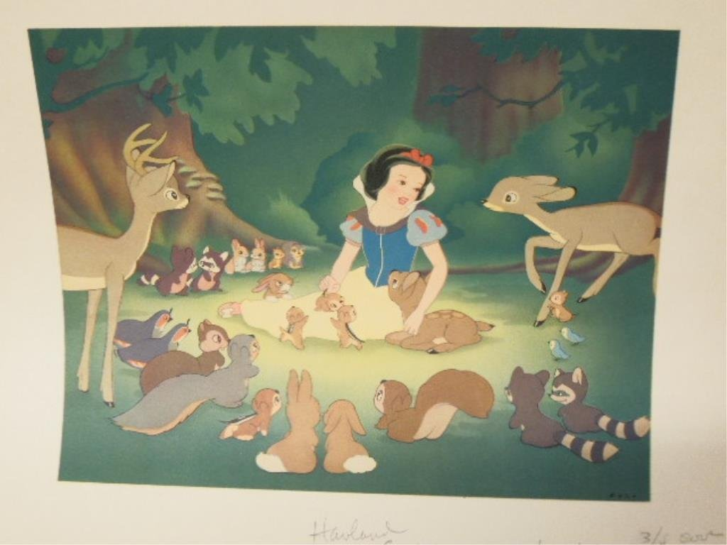 2 Disney Artist Prints, Unframed - 2