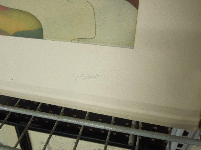 2 Disney Artist Prints, Unframed - 5