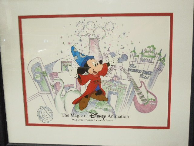 Framed Magic of Disney Animation Cel