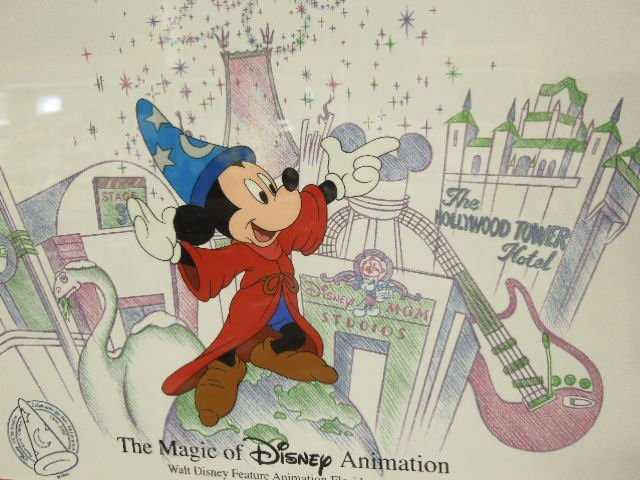 Framed Magic of Disney Animation Cel - 2