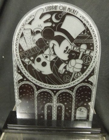 2 Enesco Mickey Store Displayers
