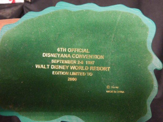 2 Disneyana Convention Figurines w/Clocks - 4