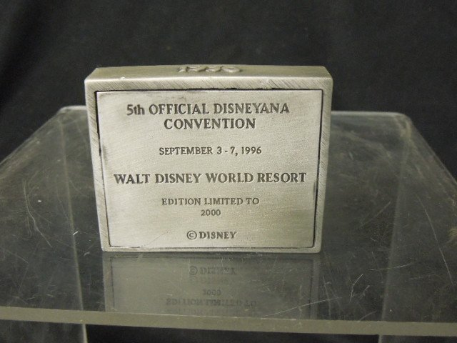 1996 Disneyana Pewter Figure NIB - 3