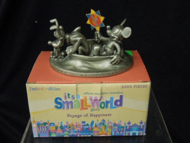 Two 2000 Disneyana Pewter Figurines
