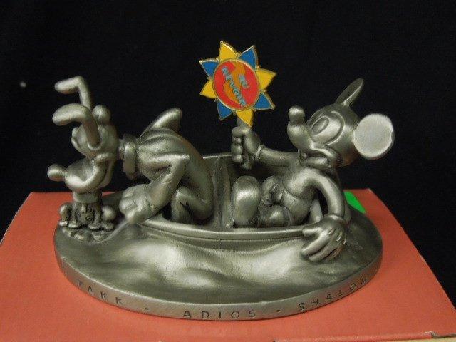 Two 2000 Disneyana Pewter Figurines - 2