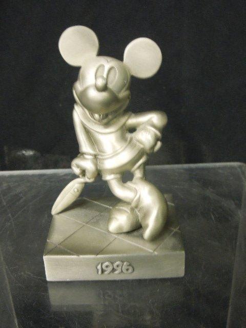 3 Disneyana Convention Pewter Figures - 6
