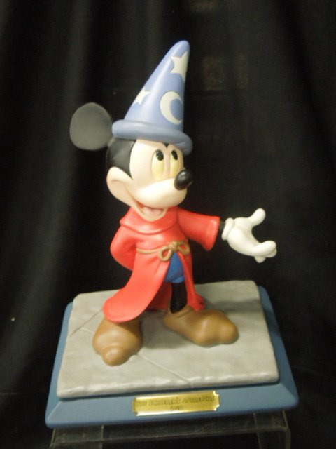 1994 Disneyana Figurine Sorcerer's Apprentice
