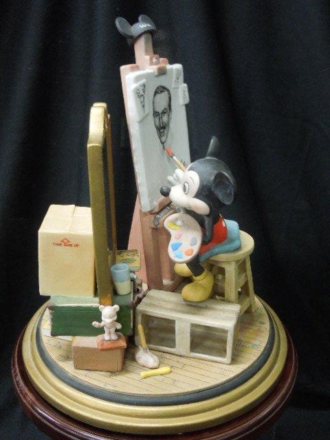 Disney Porcelain Figurine Mickey Self Portrait - 2