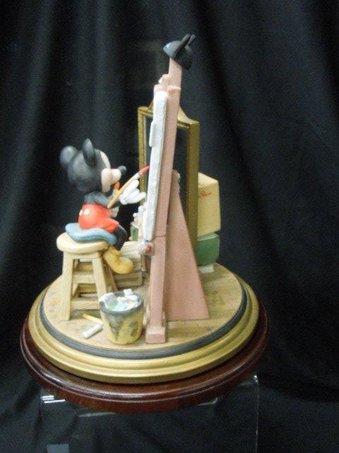 Disney Porcelain Figurine Mickey Self Portrait - 5