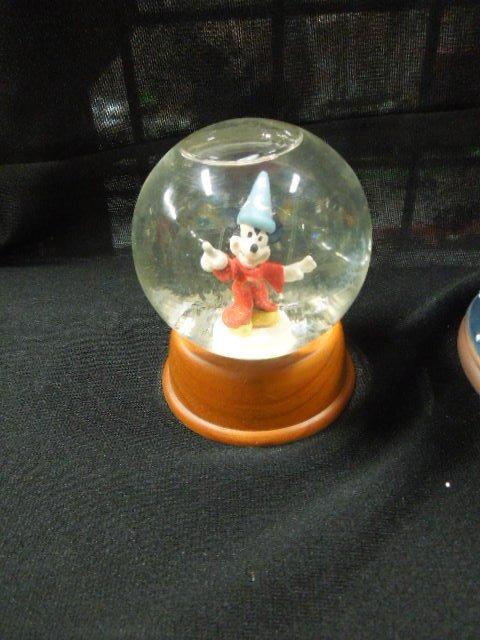 3 Disney Mickey Sorcerer Snowglobes - 4