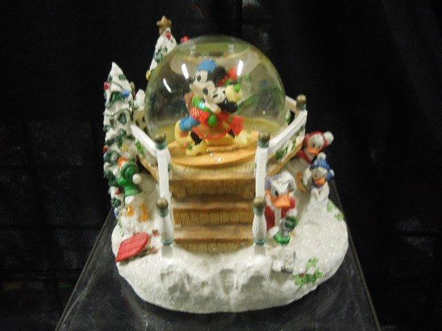 2 Disney Musical Christmas Snowglobes - 2