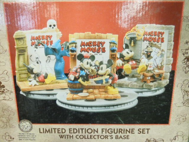 Enesco Best of Mickey 3 Figurine Set