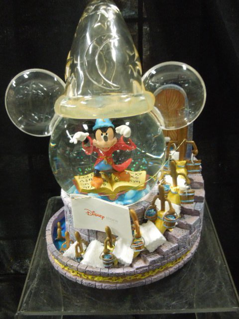 Mickey Sorcerer Light Up Musical Globe