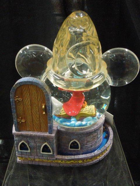 Mickey Sorcerer Light Up Musical Globe - 3